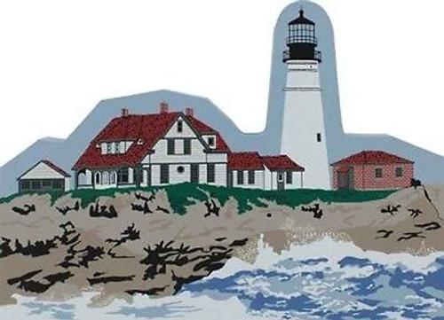 Cat's Meow New Monument  Portland Head Lighthouse Maine