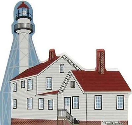 Cat's Meow Village Michigan Whitefish Point Lighthouse #6995