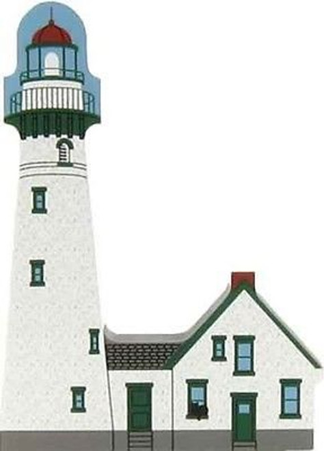 Cat's Meow Village Presque Isle Lighthouse Michigan Huron #6993