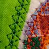Picture of the diamond stitch Fleur de Lis