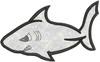 No 900 Applique Shark Machine Embroidery Designs