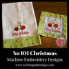 No 101 Christmas Machine Embroidery Designs