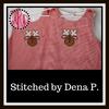 No 164 Cute Applique Reindeer Machine Embroidery Designs
