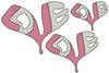 No 250C LOVE Heart Machine Embroidery Designs