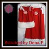 No 474 Block Snowflake Machine Embroidery Designs