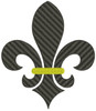 No 481 Fleur de Lis Machine Embroidery Designs