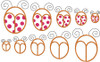 Picture of 10 Ladybugs included in the set