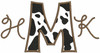 #337 Cow Print letters used with our #69 Western Font