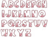 No 35 Heart Font Machine Embroidery Designs 2.5 inch high [uppercase only]