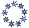 No 19 Snowflake Frames Machine Embroidery Designs
