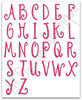 """3"""" Middle Letters - included in set"""