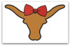 No 488 Girly Longhorn Machine Embroidery Designs