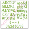 All uppercase, lowercase, punctuation and numbers included in this set.
