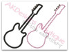 No 834 Applique Guitar Machine Embroidery Designs