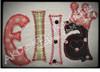 No 1354 Applique Princess Font Machine Embroidery Designs 3 inch high