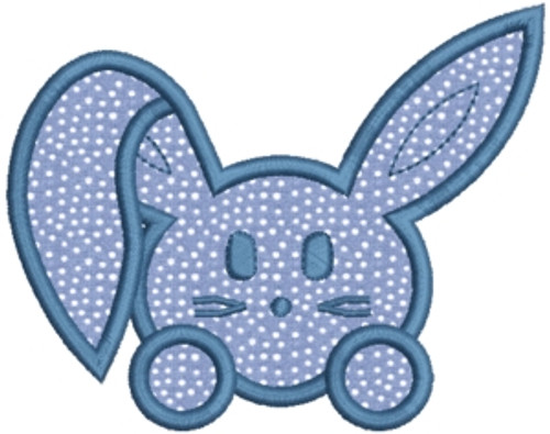 No 459 Applique Bunny Bunnies Machine Embroidery Designs