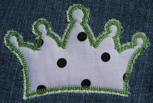 Picture of the Jack & Jill stitch crown