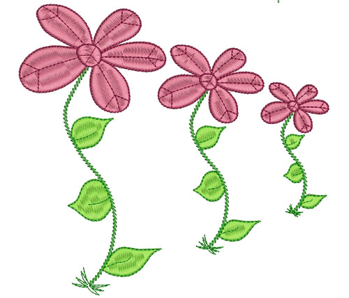 No 468 Peace Flower Machine Embroidery Designs