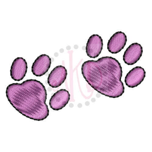 No 492 Teeny Paws Machine Embroidery Designs