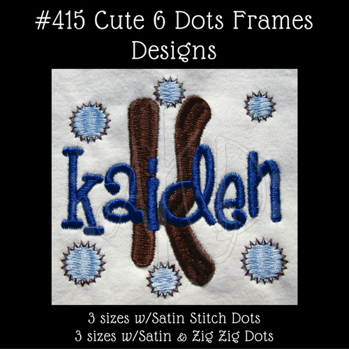"""The Kaiden example was designed using our #341 Sharpy Font for the """"K"""" and the #127 Sharpy Font for """"kaiden""""."""