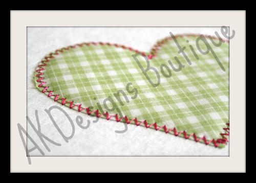 No 876 Applique Princess Hearts Machine Embroidery Designs