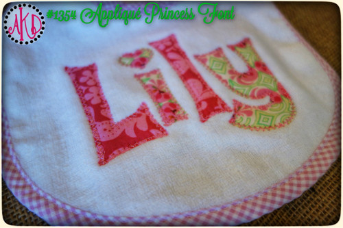 All embroidery fonts & monograms perfect for towels & blankets