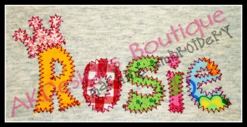 Stitched by Emmylou D.