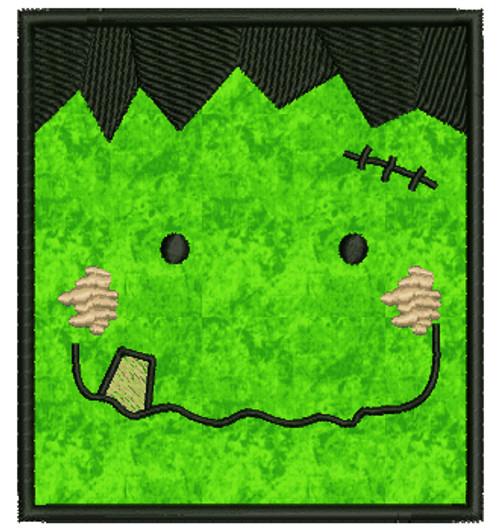 No 117 Franky Applique Frankenstein Halloween Machine Embroidery Designs