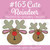 No 163 Cute Reindeer Machine Embroidery Designs