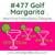 No 477 Golf Margarita Machine Embroidery Designs