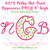 No 373 POLKA DOT Font Uppercase ONLY Embroidery Designs 3 inch high