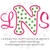 No 77 Girly Font Machine Embroidery Designs 4 inch high