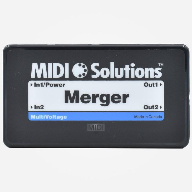 MIDI Solutions MERGE Two Channel DIN Midi Merger Box