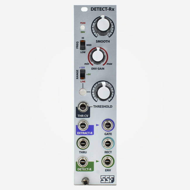 SSF Steady State Fate Detect-Rx Eurorack Comparator and Envelope Follower Module