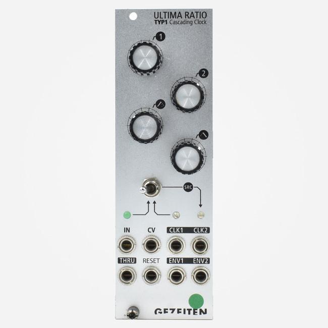 Used Gezeiten ULTIMA RATIO Eurorack Dual Clock Divider with Envelope Module