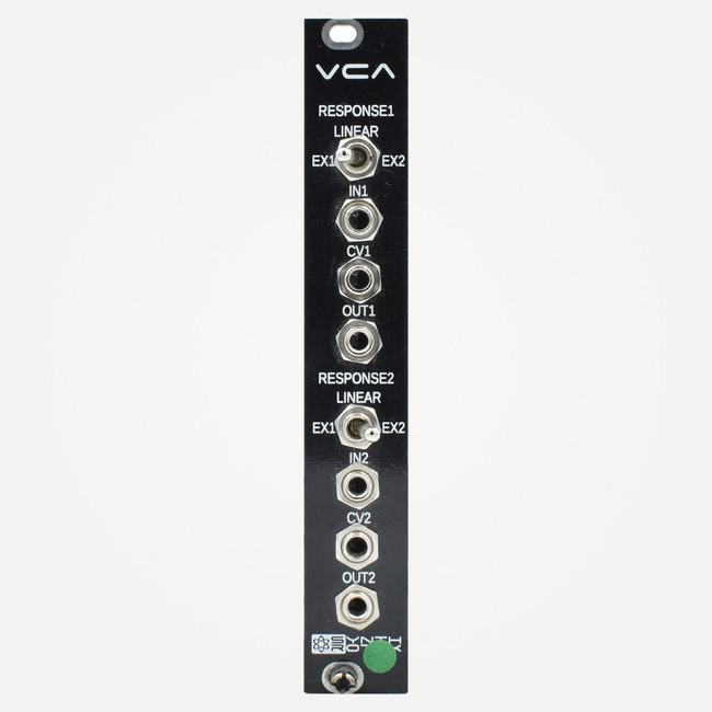 Used Synthrotek DUAL VCA Eurorack Module