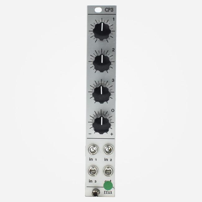 Used Manhattan Analog CP3 Eurorack Saturating Oscillator Mixer Module