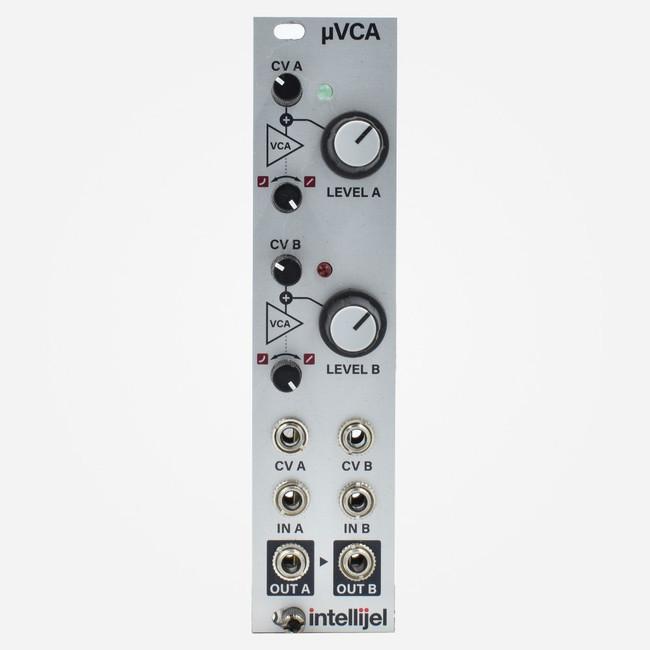 Used Intellijel uVCA Dual VCA with Summing Eurorack Module