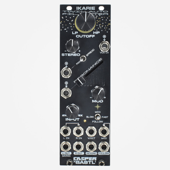Bastl Instruments/Casper IKARIE Eurorack Dual/Stereo Filter, Envelope Follower, and Saturation Module