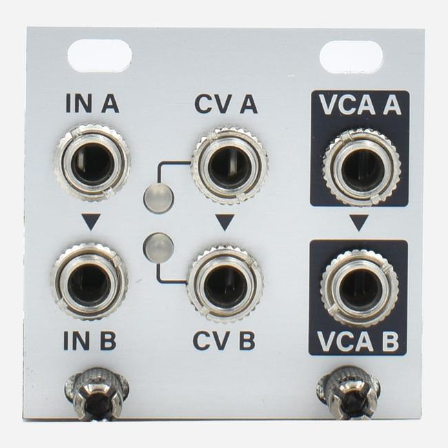 Intellijel DUAL VCA 1U Eurorack Tile Module