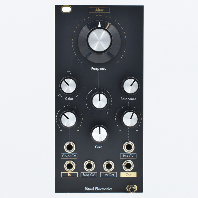 Ritual Electronics ALTAR Eurorack State Variable V/Oct Tracking Multimode Filter