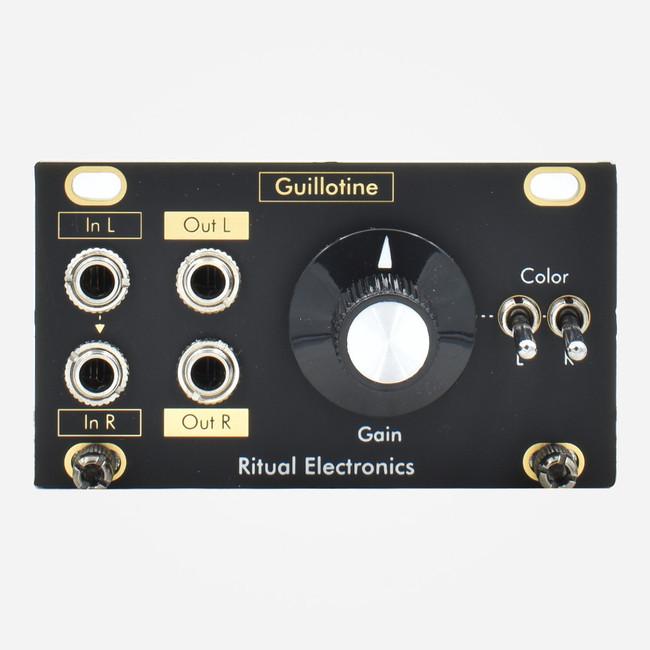 Ritual Electronics GUILLOTINE 1U (Intellijel Format) Euroack Distortion Tile