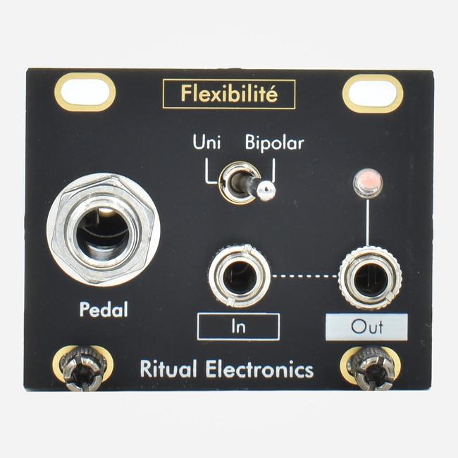 Ritual Electronics FLEXIBILITE 1u (Intellijel Format) Eurorack Expression Pedal Interface Tile Module
