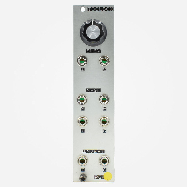Used Pittsburgh Modular TOOLBOX Eurorack Slew White Noise and Sample and Hold Module