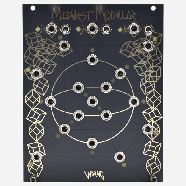 Worng Electronics VECTOR SPACE Midwest Modular Edition Eurorack Module