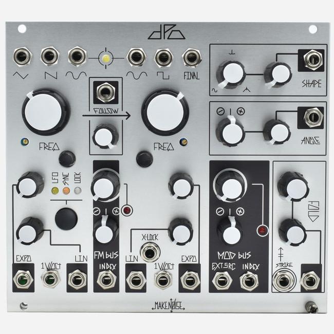 Make Noise DPO Dual Prismatic Oscillator Eurorack Dual Complex Oscillator with Wavefolder