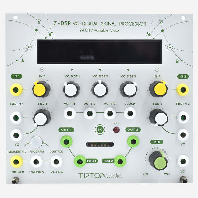Tip Top Audio ZDSP MKII Eurorack Programmable Reverb and Multi-Effect Module