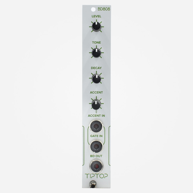 Tip Top Audio BD808 (White Panel) Eurorack tr-808 kick drum clone percussion Module