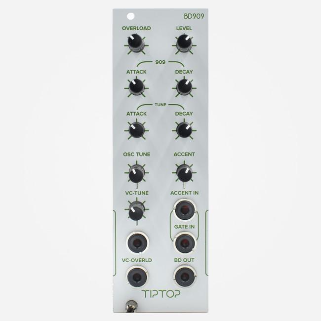Tip Top Audio BD909 (White) Eurorack Tr-909 Bass Drum Clone Module