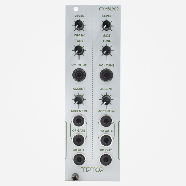 Tip Top Audio CYMBL909 CR909 Eurorack Tr-909 Ride and Crash Percussion Module
